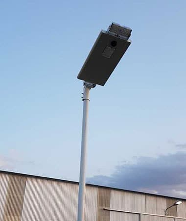 4-Angel eye solar street light 15w in south american