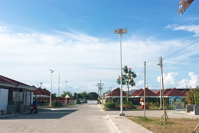 Area-solar-lighting