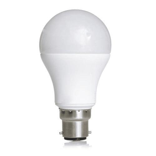 LED bulb in white background