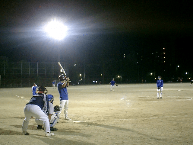 metal halide light for night game