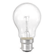 incandescent bulb in white background