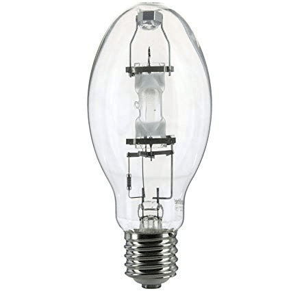 metal halide light in white background